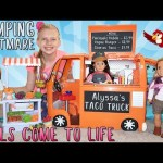 Camping Gone Wrong – Alyssa's Dolls Come to Life SKIT