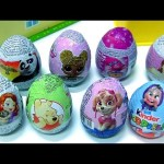 Chocolate Easter Eggs Surprise LOL Dolls, Kinder Masha, Pooh Bear Panda, Princess Sofia,
