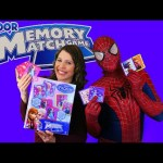 Disney Memory Board Game Play with DisneyCarToys Kids Toys