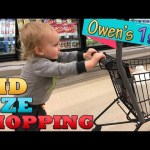 Kid Size Shopping WITH OWEN!!