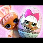 LOL Surprise CHOCOLATE EGG Let's open eggs !!!
