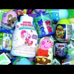 Nickelodeon Peppa Pig Toys Surprises Stacking Cups Baby Bottle