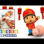 Pocoyo Arts & Crafts: Chinese New Year Garland