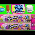Shopkins Season 2 Opening Toys at the Barbie Puppy Park Kids Toys