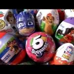 Surprise Toys PJ Masks Lion Guard ZURU 5 surprise Kinder egg Tsum Tsum