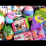 Surprise Toys ❤ Puppy Dog Pals My Little Pony toys Nick Jr Slime Peppa Pig School Bus