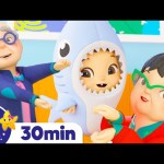 Baby Shark Dance – Let's Dance Together +More Nursery Rhymes | ABCs and 123s | Little Baby Bum
