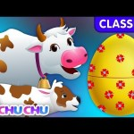 ChuChu TV Classics – Learn Baby Farm Animals & Animal Sounds | Surprise Eggs Wildlife Toys