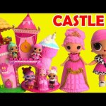 Lalaloopsy Princess Castle Goldie Luxe with LOL Surprise Dolls