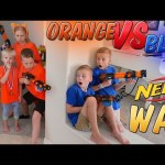 Nerf War: Homework Disturbance Payback Time