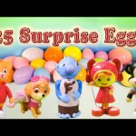 Opening Paw Patrol and Team Umizoomi, Toys and Surprise Eggs