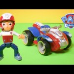 Paw Patrol Ryder Offroad ATV and Helmet Toy Unboxing