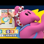 Pocoyo Arts & Crafts: Elly's We Can Do It Poster | International Day of the Girl