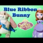 Sofia the First Clover Blue Ribbon Bunny Video Toy Review