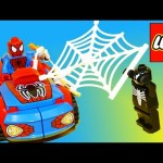 Spiderman Legos Playset Toy Review and Build Kids Toys