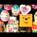 SURPRISE Toys Pooh Peppa Pig Pop Up Kinder Hello Kitty egg Wonder Women toy