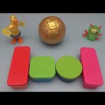 Yowie Surprise Egg Learn-a-Word! Spelling In the Woods Words!  Lesson 2