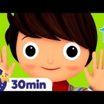10 Little Fingers Song! +More Nursery Rhymes & Kids Songs | ABCs and 123s | Little Baby Bum