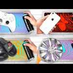 BEST of HYDRO DIPPING   XBOX Controller + PlayStation Slides + iPhone Case