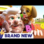 BINGO – Puppy Song | New Nursery Rhymes & Kid Songs ABCs and 123s | LBB | Learn with Little Baby Bum