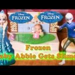 FROZEN  Elsa and Jack Frost Slime  Frozen Video Toys Parody