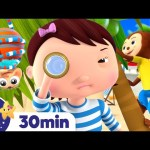 Hide and Seek Song! +More Nursery Rhymes & Kids Songs | ABCs and 123s | Learn with Little Baby Bum