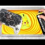 HYDRO Dipping NINTENDO Switch CONTROLLER !! (Pokémon PIKACHU Custom) 🎨