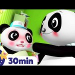 MEDICINE Song! Animals For Kids +More Nursery Rhymes & Kids Songs | ABCs and 123s | Little Baby Bum