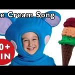 NURSERY RHYMES | Ice Cream Song + More Nursery Rhymes | Mother Goose Club | Rhymes for Kids