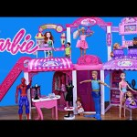 BARBIE MALL DisneyCarToys Frozen Princess and Mike The Merman at Mall Review Kids Toys