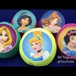 Disney Princess Slime Foam Balls Surprise Toys Doc McStuffins MLP Cars 3 Ooshies Pet Surprise Farm
