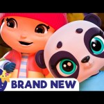 Panda Went Over The Mountain Song | Brand New Nursery Rhyme | ABCs and 123s Little Baby Bum