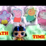 Peppa Pig Bathtime Buddies Bath Fizzies for kids with Mr. Bubble