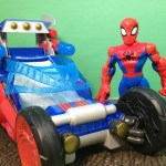 SPIDER-MAN Playskool Heroes Marvel Spiderman Web Wing Toy Car