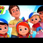The Finger Family Song | Junior Squad Cartoons | +More Nursery Rhymes – Kids TV Baby Songs