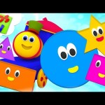 Adventure With Shapes | Bob The Train | Learning Videos For Children | Kids TV