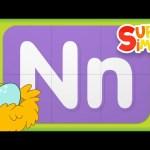 Alphabet Surprise | Turn & Learn ABCs | Learn Letter N