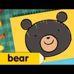 How to Draw a Bear | Easy Drawing Lesson for Kids | Step by step