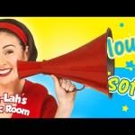 Loud and Soft Song | Sing It Loud | Kids Songs & Nursery Rhymes