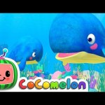 Mom and Baby Blue Whale Lullaby | CoComelon Nursery Rhymes & Kids Songs