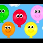 The Balloon Song – Learn 10 Color Song for Children, Toddlers and Babies