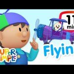 The Super Simple Show – Flying | Cartoons For Kids