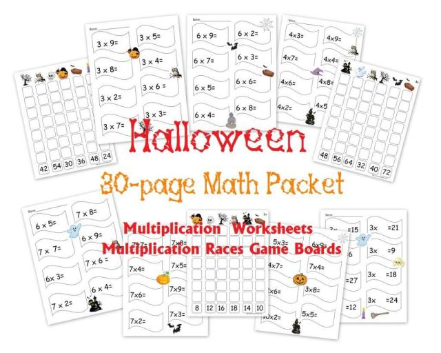 Multiplication Worksheets Grade 4