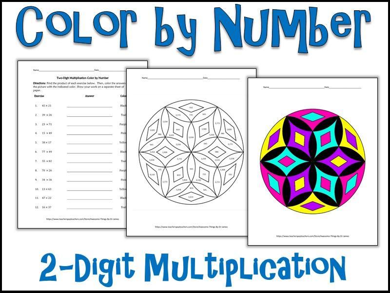 Multiplication Worksheets Number 3