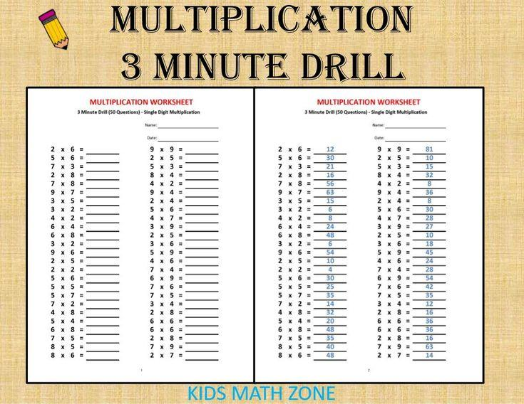 Multiplying Fractions Worksheets And Answers