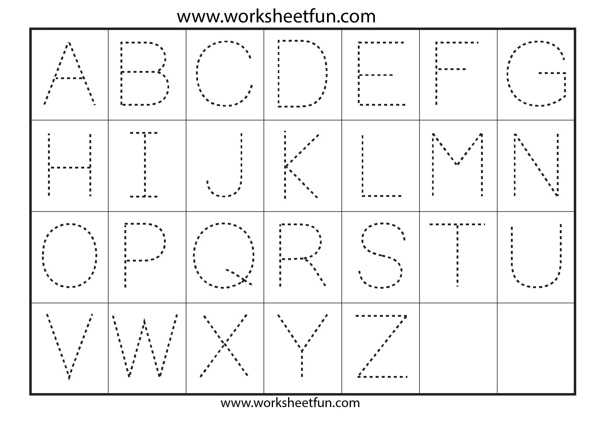 Tracing Worksheets Pdf