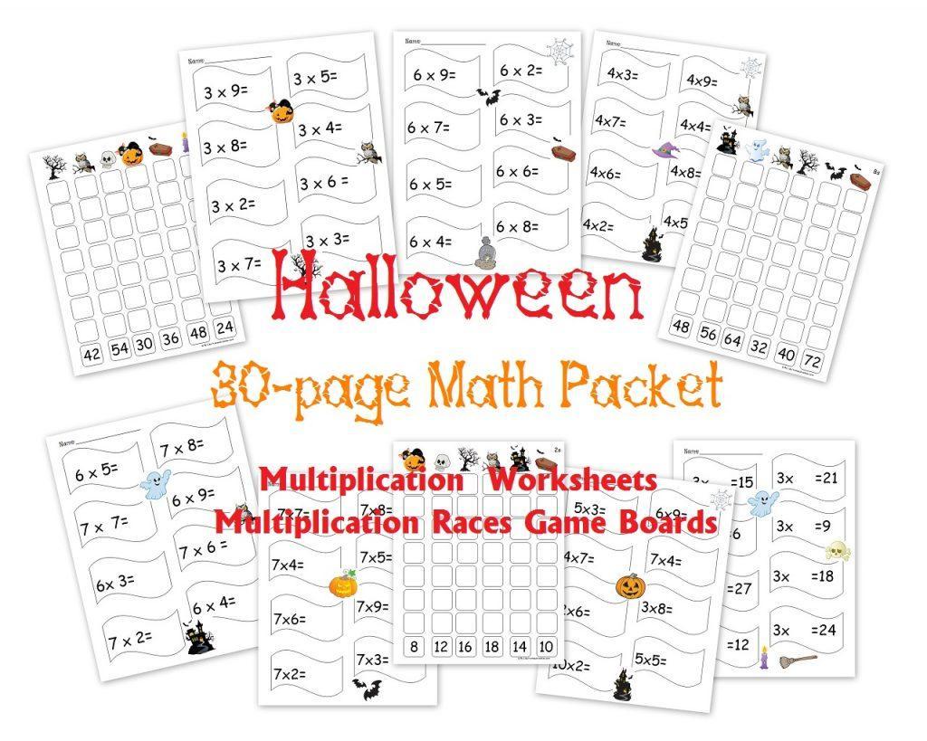 Multiplication Worksheet Examples 5
