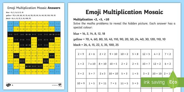 Multiplication Worksheets 5 Minute Drills