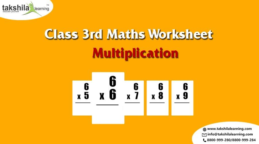 Multiplication Worksheets Class 3 1