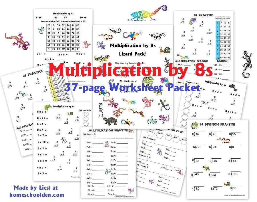 Multiplication Worksheets Homeschool 3